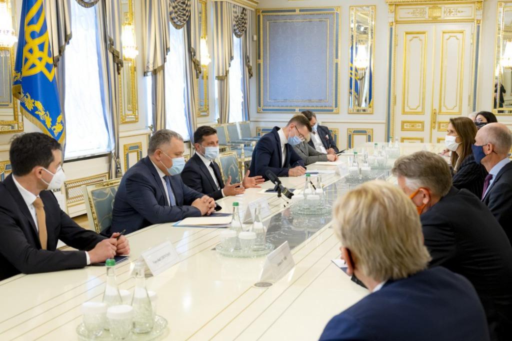 Владимир Зеленский провел встречу с высокопоставленнымы должностным лицами стран Бенилюкса