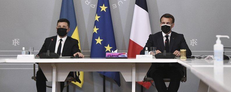 Зеленский о подписании рамочных соглашений между Украиной и Францией