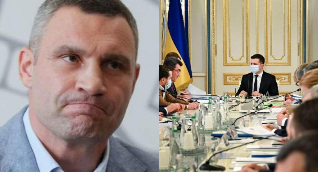 СНБО может отстранить Кличко с должности главы КГГА — СМИ
