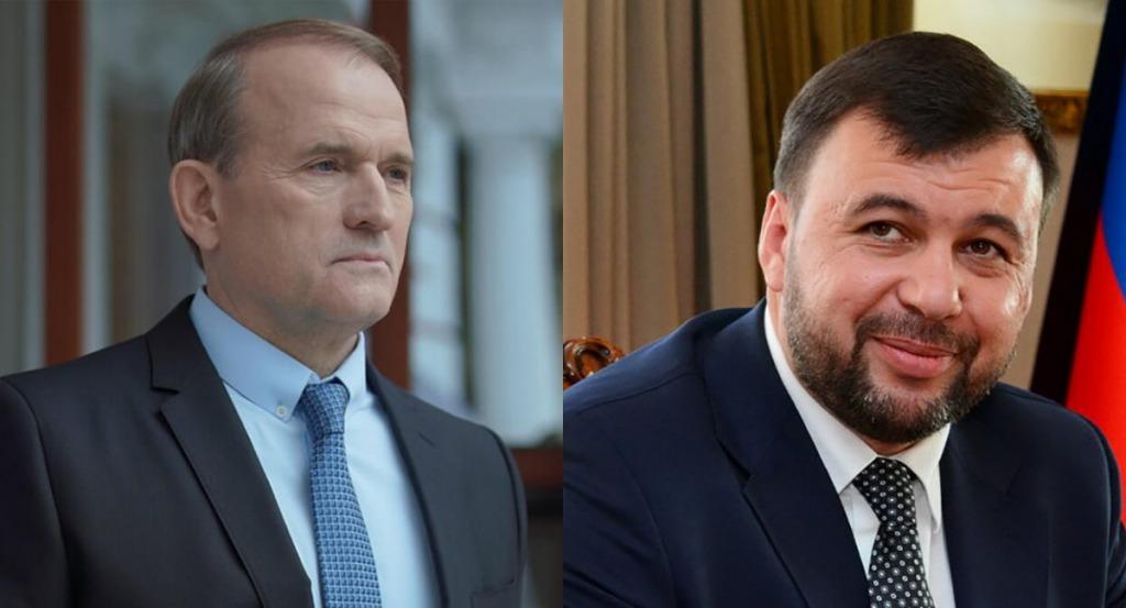 Запись возможного разговора, где Медведчук поздравляет главаря боевиков Пушилина