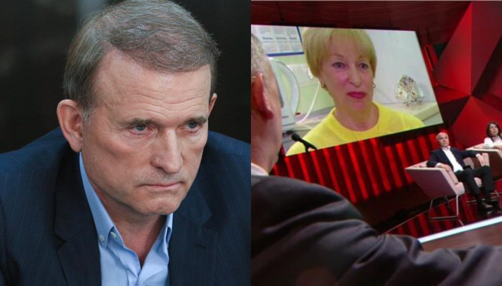 Просто в эфире, жена брата Медведчука рассказала всю правду