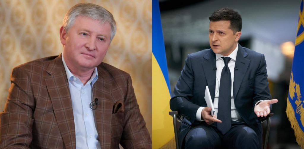 У Ахметова отреагировали на намерение Зеленского ограничить влияние олигархов