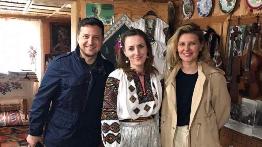 Зеленский с женой перед Пасхой посетил Прикарпатье