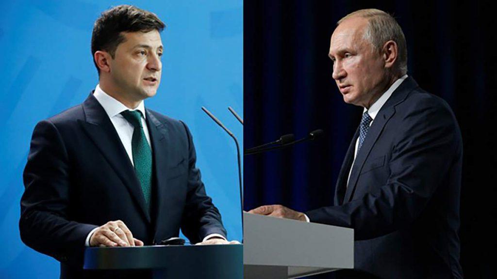 У Путина заявили, что обсуждают с Киевом возможность встречи с Зеленским