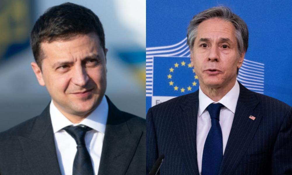 О чем руководство Украины будет говорить на встрече с Энтони Блинкеном