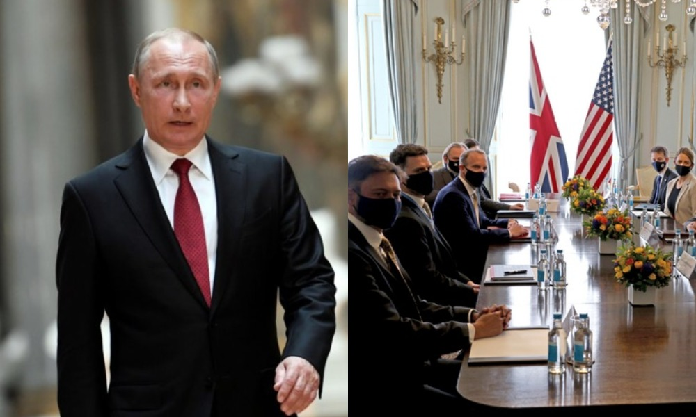 Министры G7 договорились сдерживать РФ, на фоне ее агрессивных действий у границы Украины