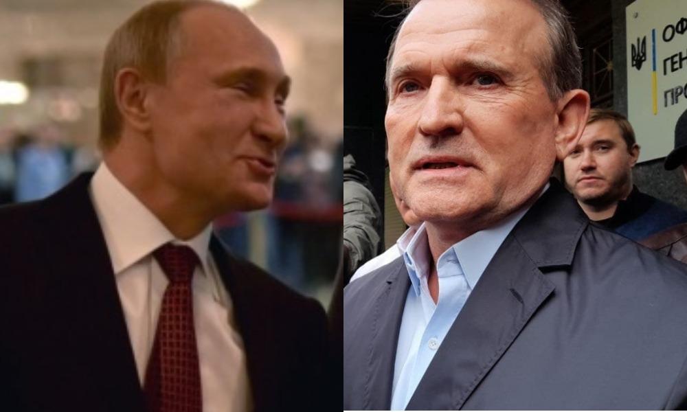Медведчук пришел получить подозрение, а в Кремле от него открестились