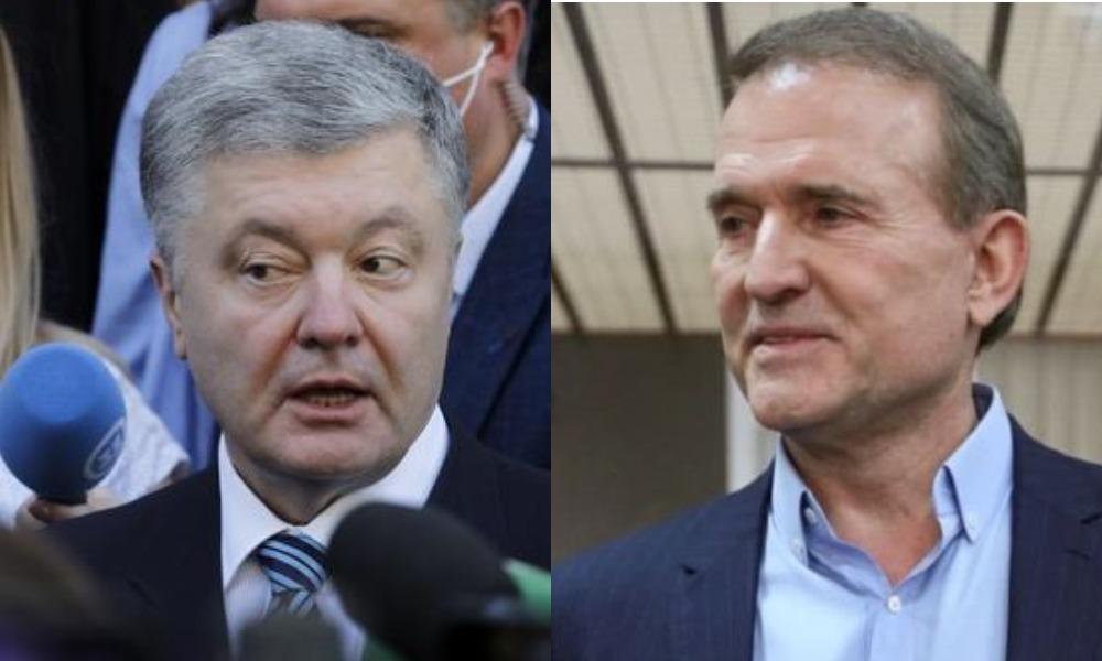 Порошенко имеет давние связи и договоренности с Медведчуком, — Лещенко
