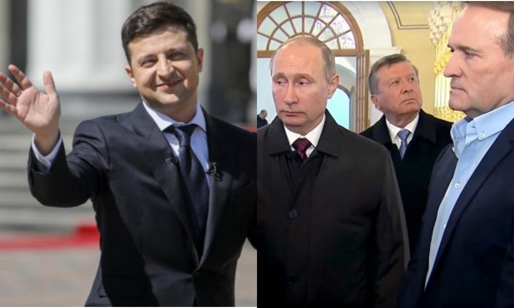 У Зеленского допускают возможность обмена Медведчука на украинских пленных