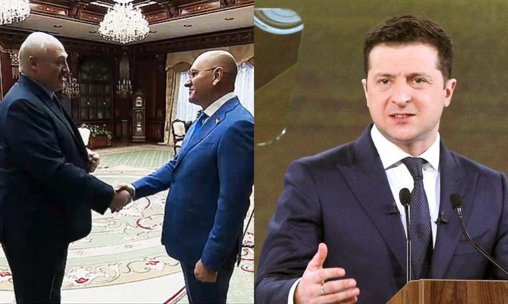 Скандльный «слуга», который недавно встречался с Лукашенко, встал на сторону Медведчука