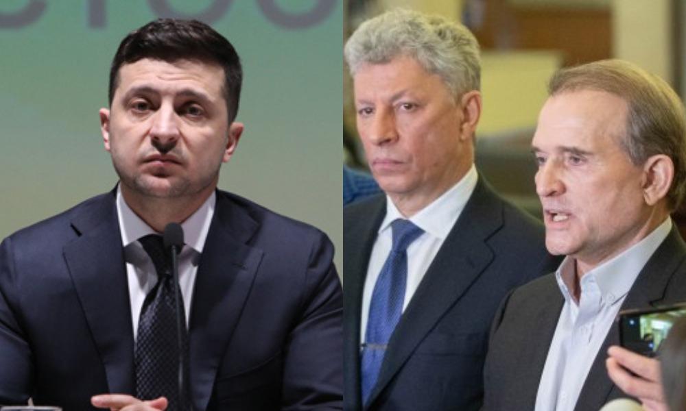 Дело Медведчука может развалить ОПЗЖ