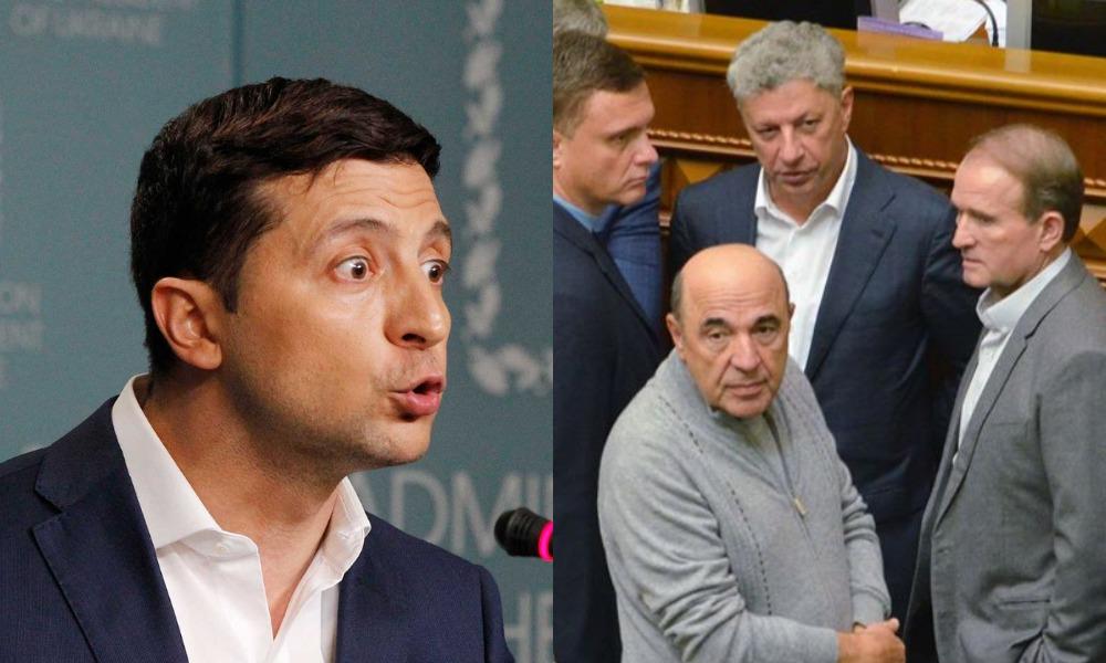 У Зеленского назвали ОПЗЖ фактически филиалом «Единой России»