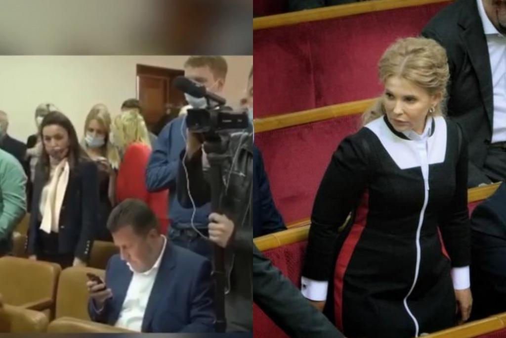 Публичное пренебрежение! Тимошенко в ауте — соратник подставил. Поступок, который возмущает — забрать мандат. Страна на ногах!