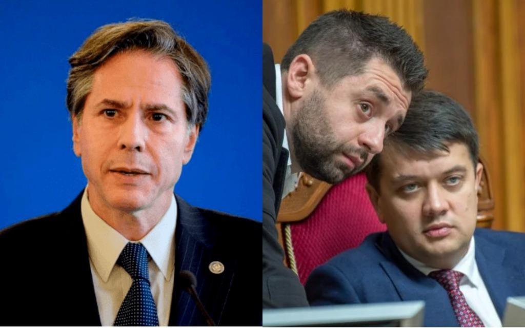 Нардепы на встрече с Блинкеном просили назначить постоянного посла США в Украине: кого предлагают