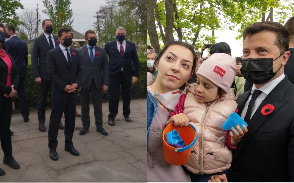 Зеленский и послы G7 в Украине почтили память жертв Второй мировой почти у границы с РФ