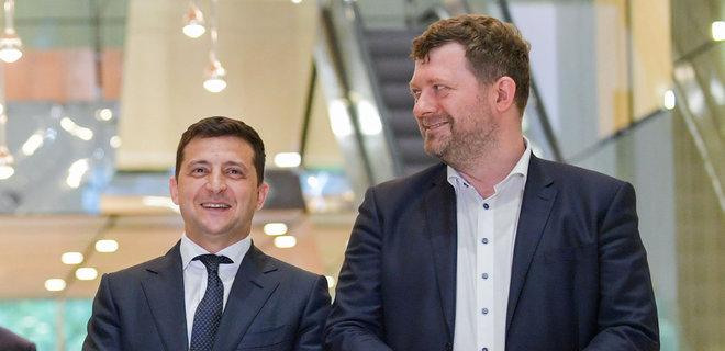 Корниенко оценил новые рейтинги «слуг» и Зеленского