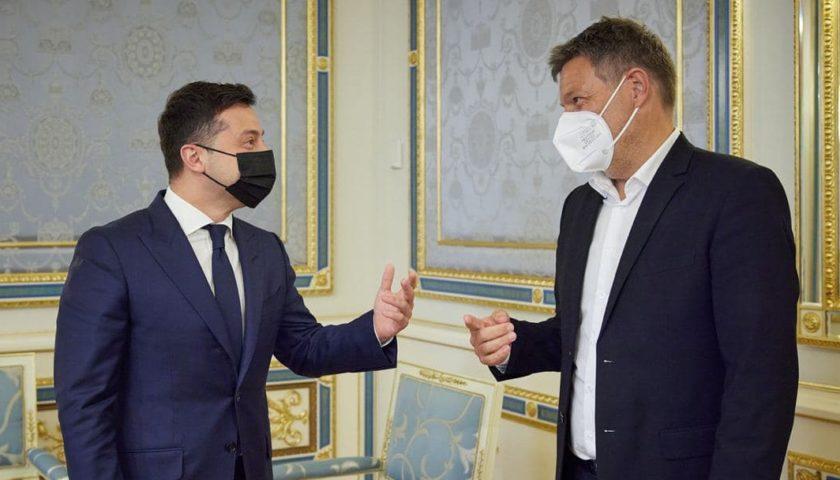 Зеленский провел встречу с представителем Германии: о чем говорили