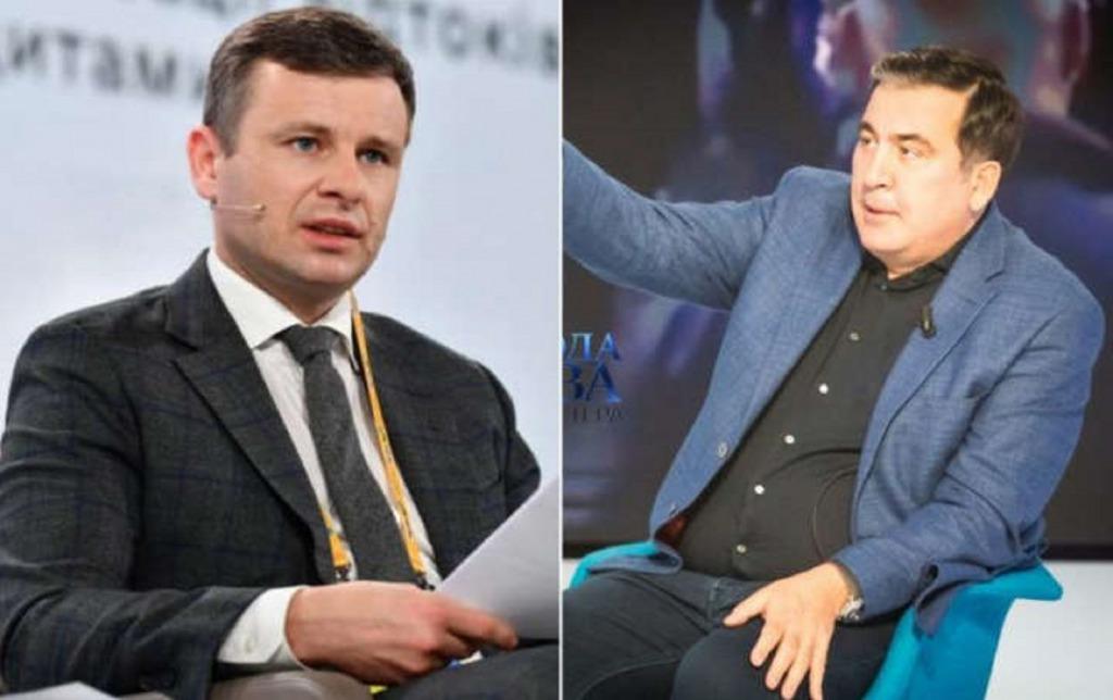 «Этот министр Марченко имеет долю в этом». Саакашвили обвинил главу Минфина в привлечении к незаконным схемам на таможне