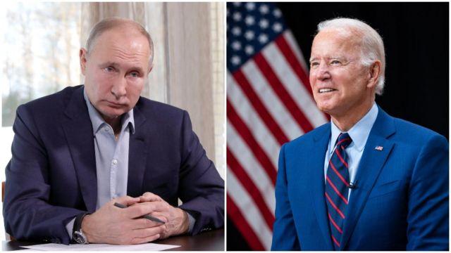 «Путин знает, что я отреагирую»-Байден заявил о готовности поддержать Украину.