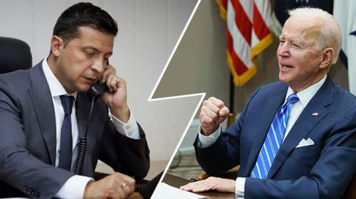 США провели телефонный разговор с Украиной. «Джозеф Байден заявил Путину о крепкой поддержке США суверенитета Украины».