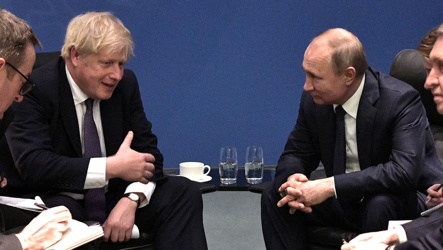 Джонсон подтвердил суверенитет Украины — «Не признаем российскую аннексию Крыма».