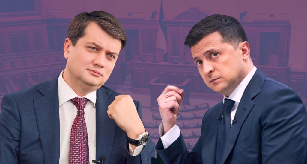 Почти соперники! Разумкова не остановится — самостоятельное плавание. У Зеленского не ожидали — будут конкурировать!