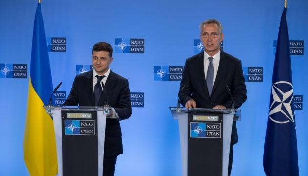 «Лидеры Североатлантического союза рассмотрят агрессивное поведение России» -Зеленський созвонился с Генеральным секретарем НАТО.