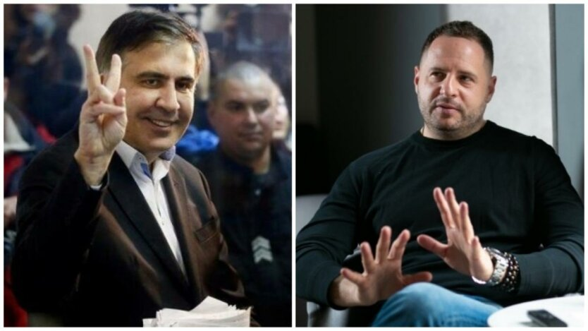 За рамки дозволенного! Саакашвили прокомментировал разговор Ермака и Джулиани. «Сделал все правильно»