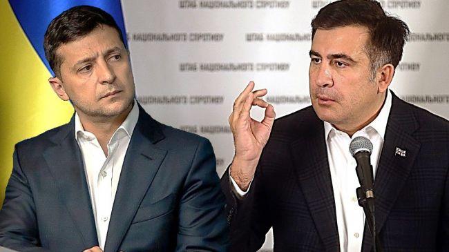 Саакашвили: Зеленский на встрече с президентом Грузии поднял один важный вопрос