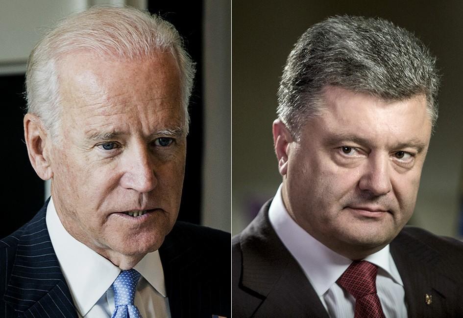 «Делал все возможное» -Порошенко думает, что встречу Зеленского и Байдена организовал он.