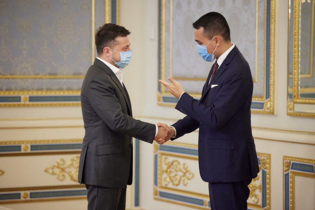 «Есть значительный потенциал», — Владимир Зеленский встретился с главой МИД Италии.