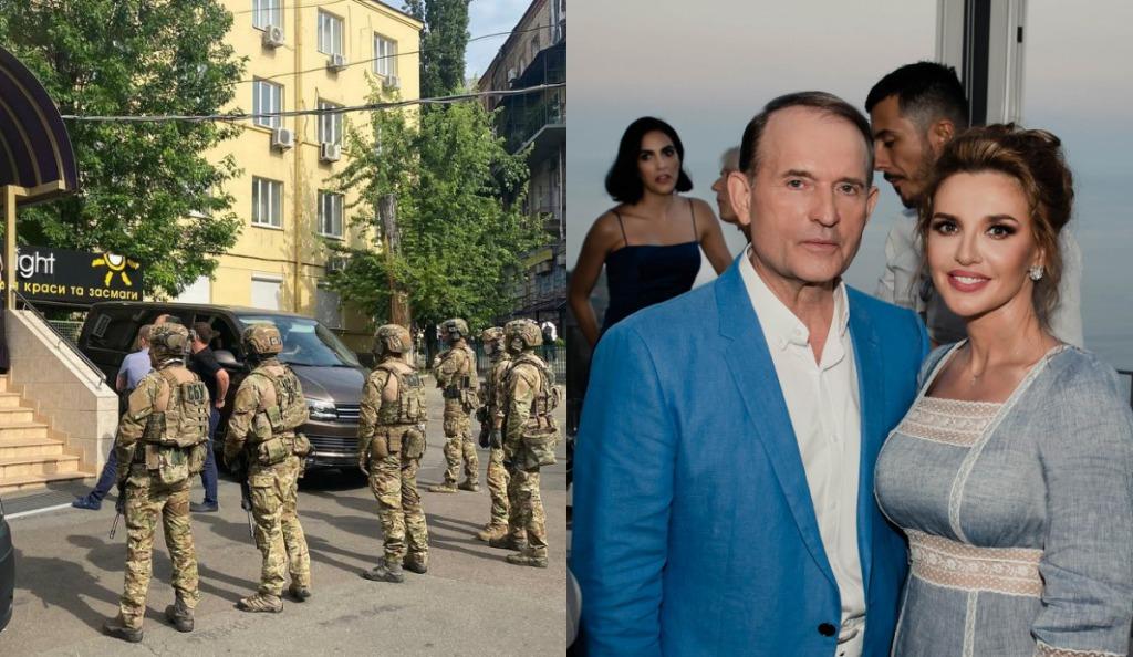 С самого утра! Срочно — обыски у Медведчука. СБУ ворвалась: приехали к маме Марченко!