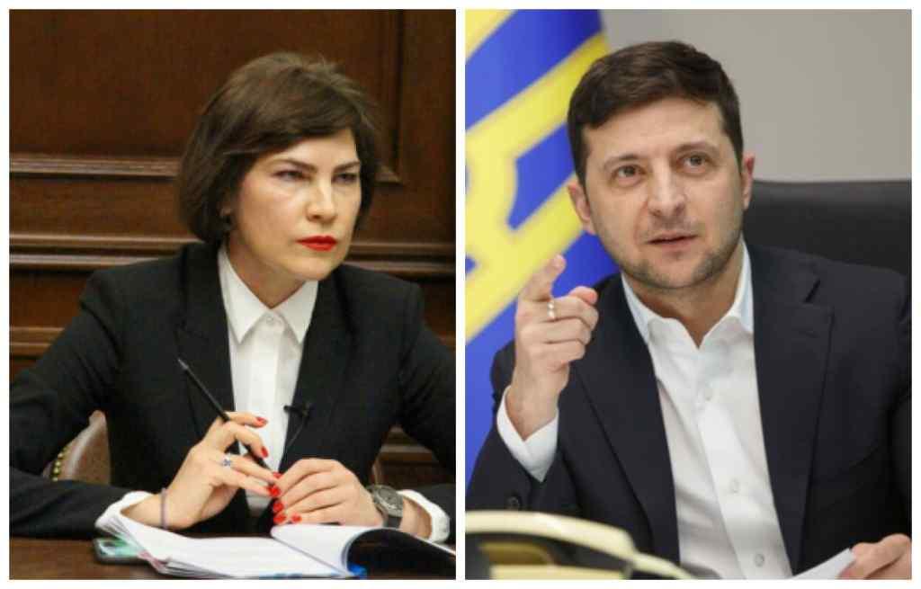 Не поддержала идеи Зеленского. Венедиктова выступила против того, чтобы ограждать Донбасс «стеной»