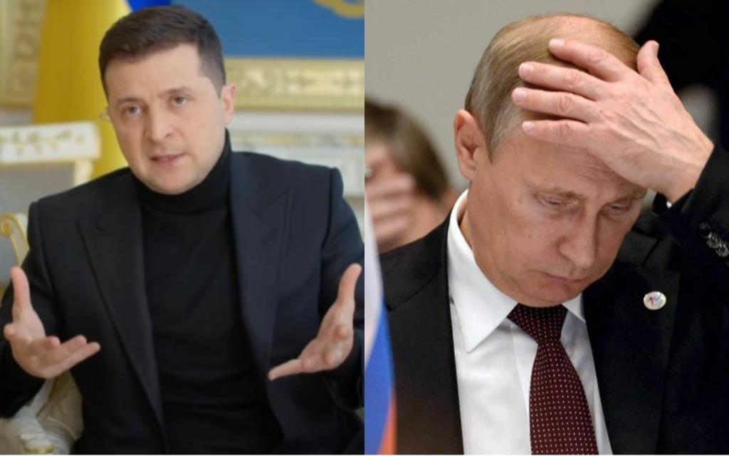 «Все понимают, кто помогает сепаратистам», — Зеленский ответил на условия Путина о встрече