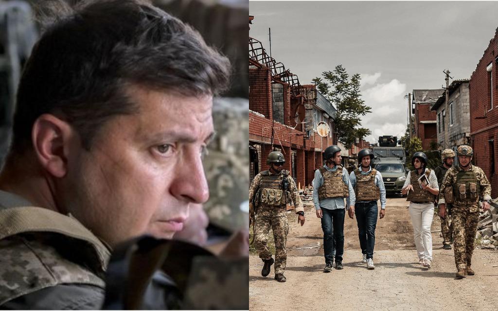 «Надо ускорить интеграцию Украины в НАТО». После визита на Донбасс — во Франции поддержали