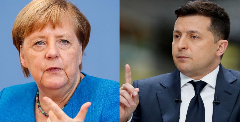 Меркель об Украине: «Должна оставаться страной-транзитером газа».