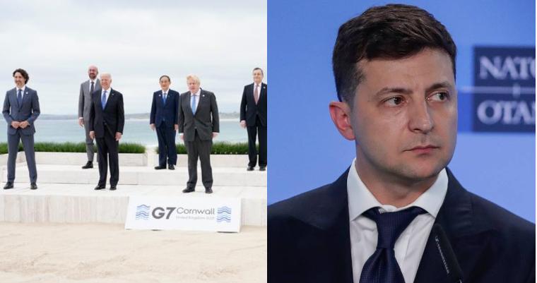 Лидеры G7 обсудили украинские вопросы: «Поддерживаем территориальную целостность и готовы помочь».