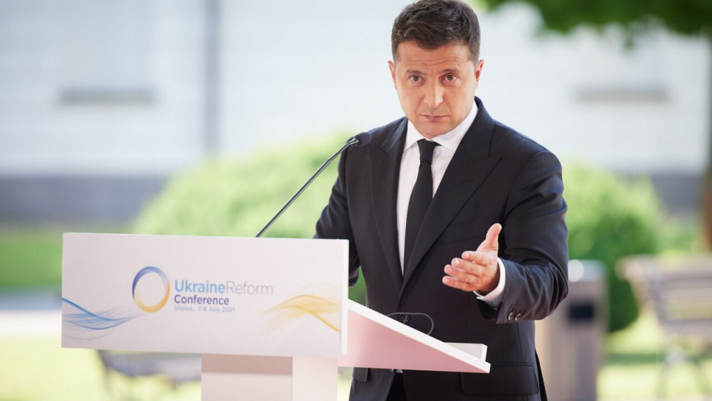 Зеленский заявил, что Украина проводит больше реформ, чем остальные страны Европы