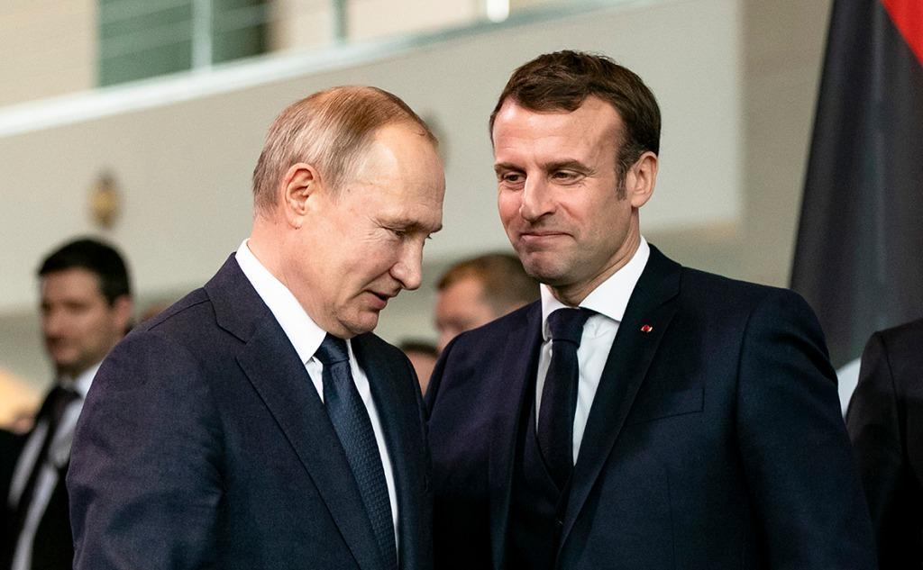 Во время телефонного разговора с Макроном! Путин шокировал циничным заявлением — пожаловался на Украину: слов нет!