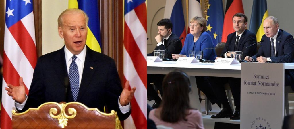Процесс в тупике! Переговоры по Донбассу — США не присоединятся. Байден с Украиной — Путин в ауте!