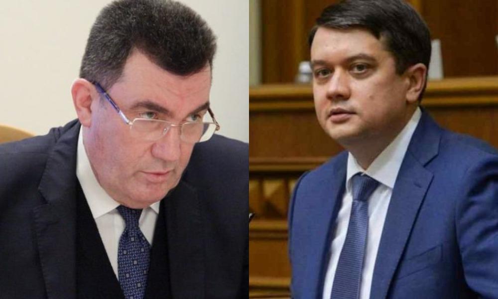 Утром! Разумков пошел против Данилова — в отставку: нервы сдали. Приползет на коленях — неожиданно!