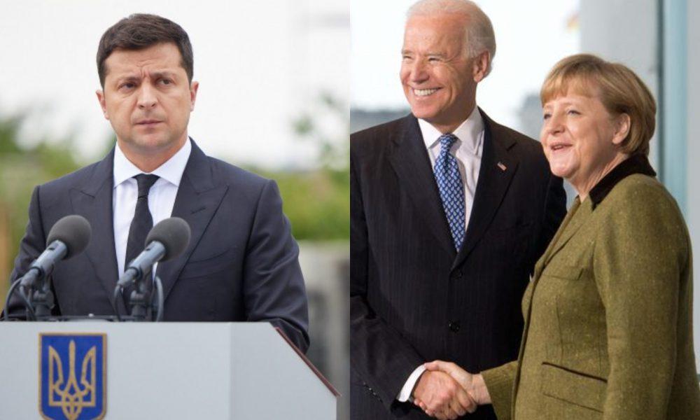 Это произошло! Байдена призвали пересмотреть соглашение с Меркель: «Северный поток-2» может быть отменен — Зеленский добился