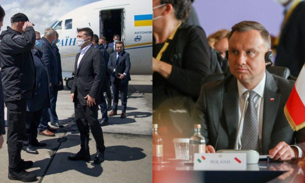 Зеленский отбывает! Вместе с Дудой, рейс в США — пока они «прячут голову в песок». Польша поможет — вместе
