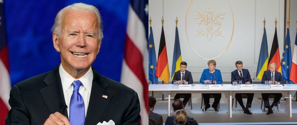 Байден с нами! Переговоры по Донбассу: США примут участие в «нормандском формате» — готовы прекратить войну!
