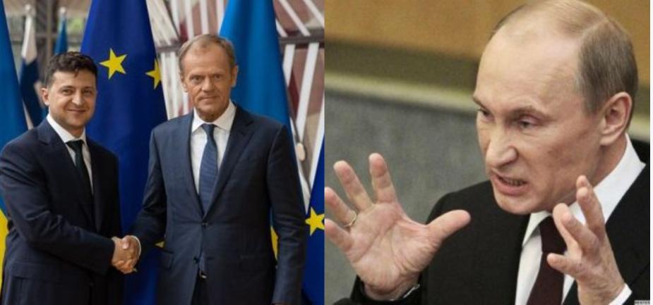 «Безвиз у нас не заберут!» Мечты Путина разбиты: Украина в ЕС! Зеленский держит под контролем — не позволит