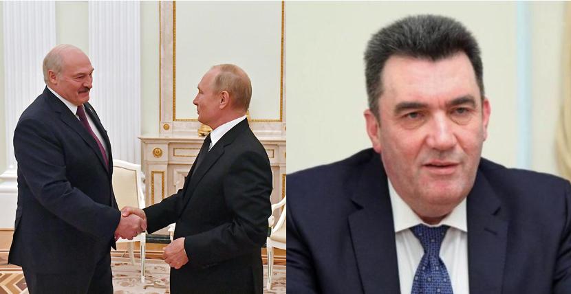 После переговоров! Данилов влупил: «ползучая оккупация Путиным Беларуси». Украина осознает вызов — Зеленский держит под контролем.