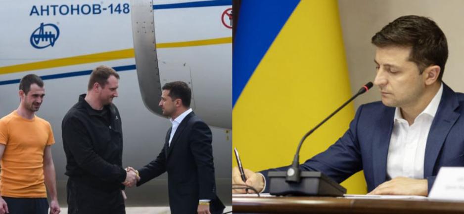 Просто в кабинете! Зеленский приказал: рассмотреть срочно! Защиту политзаключенным и их семьям — украинцы аплодируют