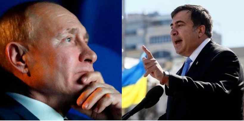Прямо в эфире! Саакашвили влупил: вся правда — Путин в истерике, план провалился. Не допустили вторжение!