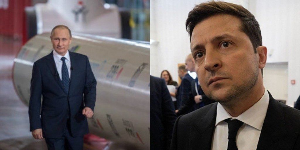 Газовая война! Путин присел: шантаж не пройдет! Зеленский не допустит: поддержка ЕС.